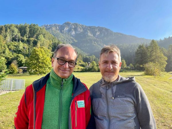 Nino Martino of AIGAE and Alex Gesse of FTHub formalised the partnership agreement in the Italian Alps.